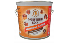 Лоскутный воск с льняным маслом 3 литра