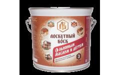 Лоскутный воск с льняным маслом и дёгтем 3 литра
